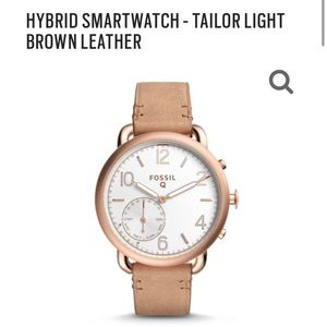 Fossil tailor smart watch